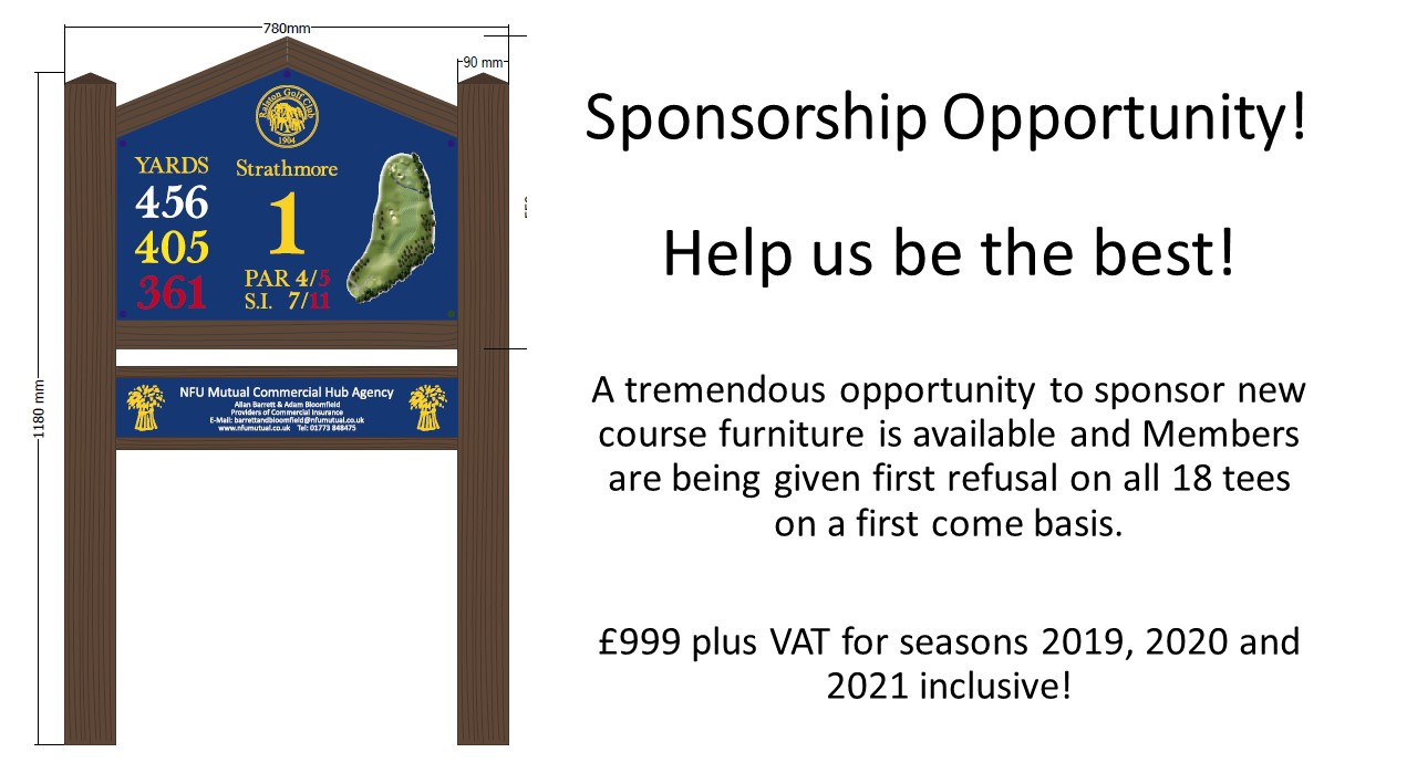 Sponsorship Opportunities at Ralston Golf Club