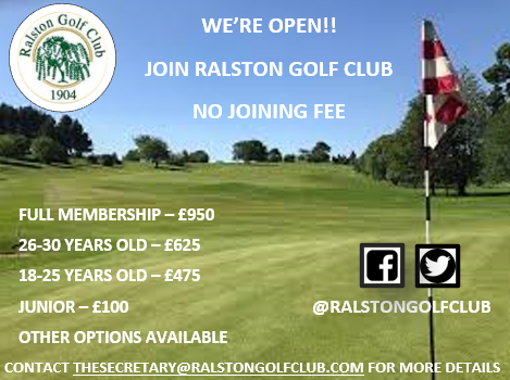 Join Ralston Golf Club